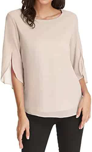 4b31621921e Shopping Ivory - Blouses & Button-Down Shirts - Tops, Tees & Blouses ...