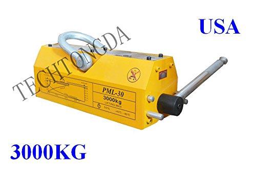 3000 KG Steel Magnetic Lifter Heavy Duty Crane Hoist Lifting Magnet 6614lb by Lifter-1 (Image #4)