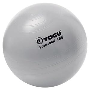 TOGU Gymnastikball Powerball ABS 65 cm Silber