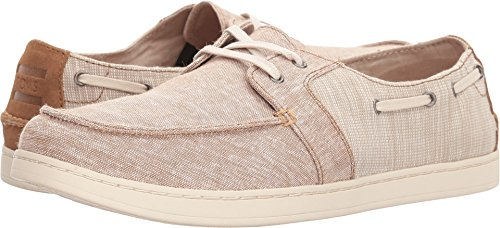 Toms Mens Culver Lace Up Toffee Chambray Mix 10 5 D Us