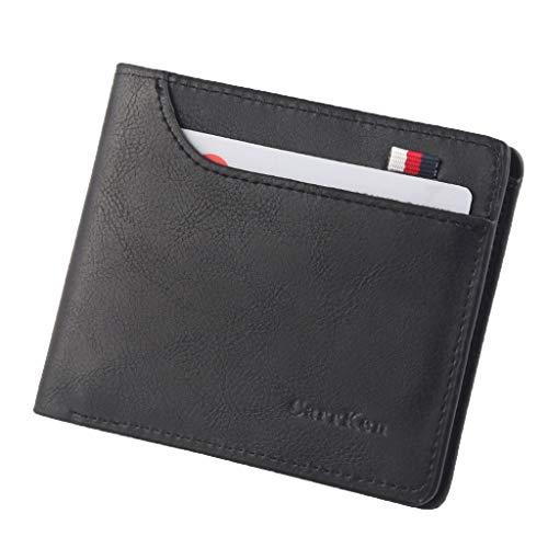 Men Wallets Small Money Purses Dollar Top Men Thin Coin Bag Wallet - Mens Breast Secretary Wallet