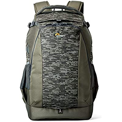 Lowepro LP37132-PWW  Flipside 500 Camera Backpack  Mica Camo  All Weather Cover  Fits Pro DSLR with Lens  Extra Bodies Lenses  Laptop Tablet