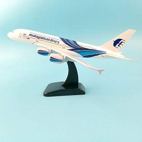 20CMマレーシア航空A380航空機モデル16CMダイキャスト航空機モデルB747航空機モデルおもちゃ