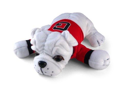 Plushland University Of Georgia Bulldog Plush Stuffed Toy With Music-medium
