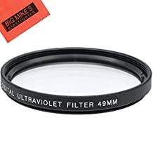 49mm Multi-Coated UV Protective Filter for Canon EF 50mm f/1.8 STM Lens