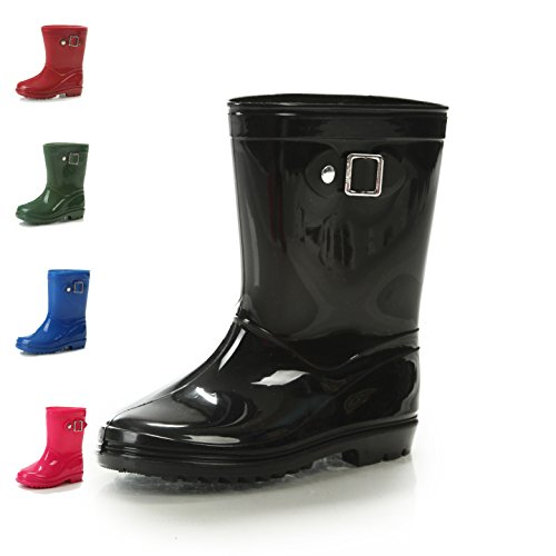 rain boots for boys size 4 - 7