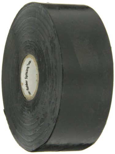 (Scotch(R) Linerless Rubber Splicing Tape 130C, 1-1/2 in x 30 ft, Black, 1 roll/carton)