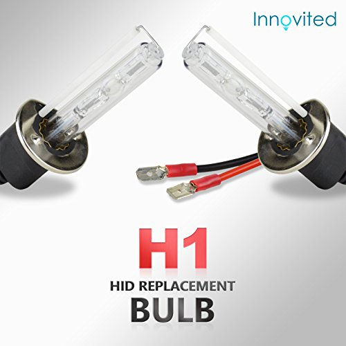 "Innovited HID Replacement Bulb Bulbs ""All Sizes and Colors""- H1 - 6000K"