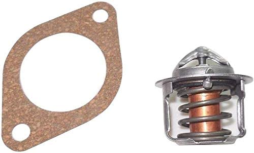 New Thermostat /& Gasket 82/°C //180/°F For Ford New Holland Tractor TC30 TC33D TC33DA