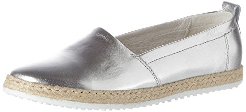 Silber Espadrillas Donna Marc Argento Shoes 00275 Emily Basse xvZYw4q1P