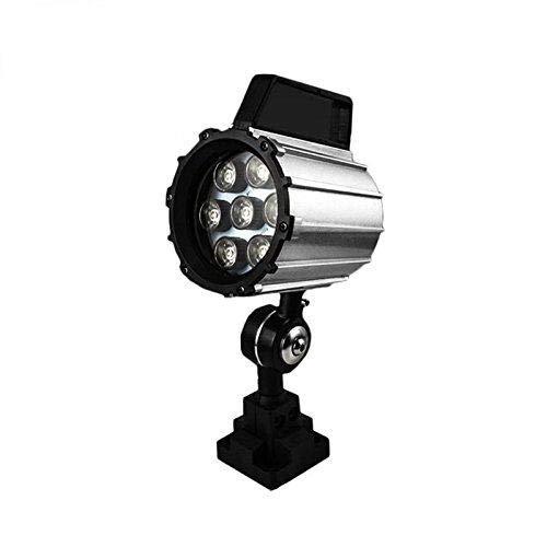 Led Machine Lights IP68,12W 24V-36V Adjustable Aluminum Alloy Industrial Lighting LED Work Light for Lathe, CNC Milling Machine, Drilling Machine – Short Arm (12)