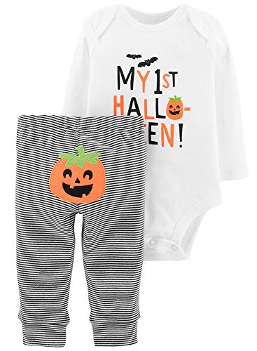 Carter's 2-Piece My First Halloween Bodysuit Pant (18M)