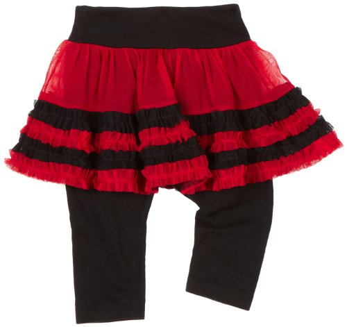 Baby Girls' Multi Chloe Net Skegging, Get Red/Black, 18 Months