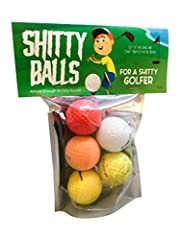 Shitty Balls for a Shitty GolferHe walks onto the green with the heart of a lion but chases the ball around like a lost puppy. It's would almost be cute, if he wasn't wasting all those brand-spanking-new golf balls. Take a little shame out of...
