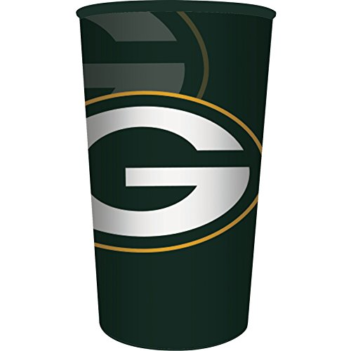 Green Bay Packers Plastic Stadium Cup, 22 oz, 1 Count