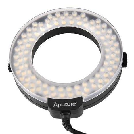 Aputure HN100 Amaran Halo LED Ring Light For Nikon (Black)