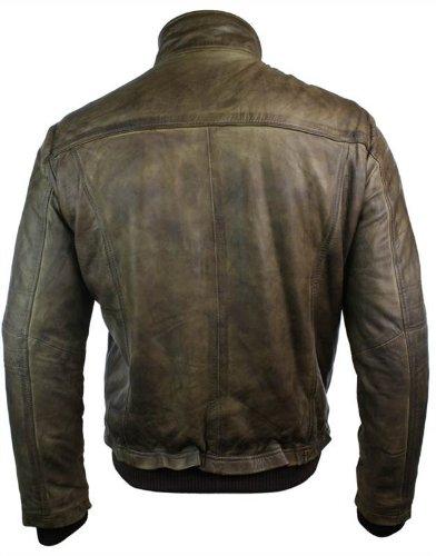 Blouson aviateur homme cuir véritable style bomber  Amazon.fr  Vêtements et  accessoires 17dd428c416