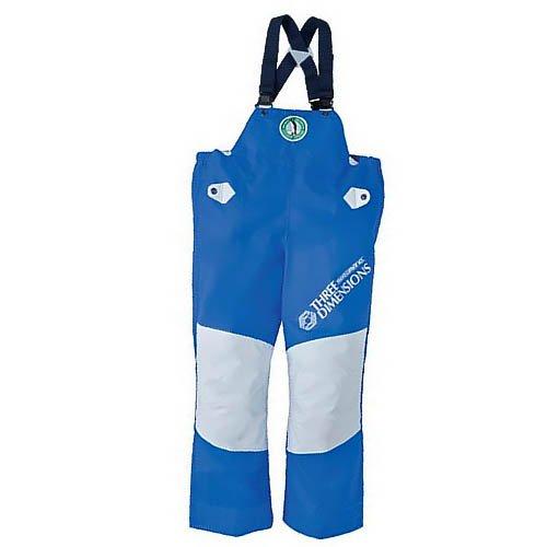弘進ゴム/シーグランド 3D 胸付ズボン/パンツサロペット サイズ:3L カラー:ブルー B00RX79X2O
