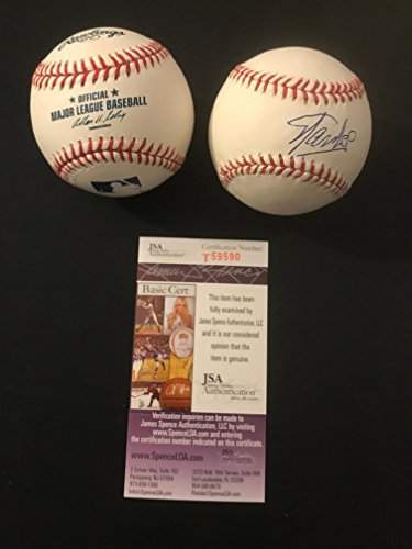 Lee Signed Baseball - STAN LEE SIGNED AUTOGRAPH BASEBALL JSA T59590