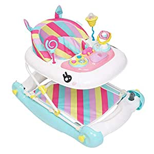 MyChild Unicorn 2 en 1 Walker Rocker Rainbow, de: Amazon.es ...