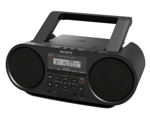 Sony ZSRS60BT CD Boombox with Bluetooth and NFC (Black) Radio