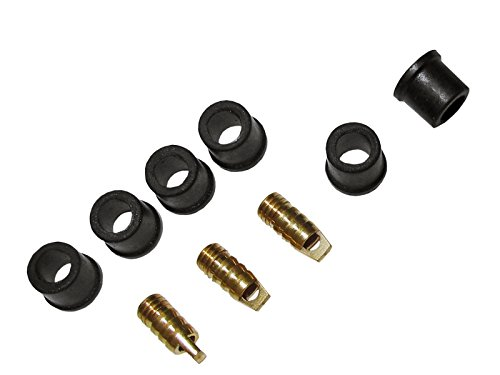 Replacement Kit for Manometer Hose Connectors Package of 6 Gasket Seal and 3 Cores