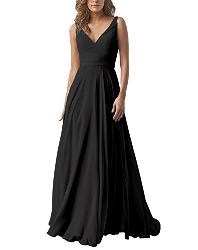 long black evening dress size 8 - 5