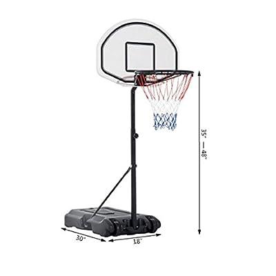 Methink Toy Basketball Hoop System Backboard Net Swimming Pool: Toys & Games