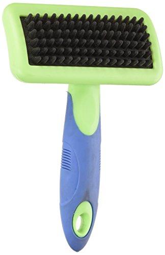 UGroom Slicker Brushes with Rubber Pins — Ergonomic Slicker Brushes for Dog Grooming - Large, 6¾