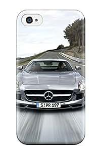 Excellent Design Mercedes Sls Amg 10 Case Cover For Iphone 4/4s
