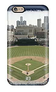 ZippyDoritEduard Scratch-free Phone Case For Iphone 6- Retail Packaging - Amazing Detroit Tigers Ballpark