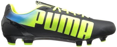 Puma Mens Evospeed 4.2 Fg Tacchetta Da Calcio Nero / Giallo Fluorescente