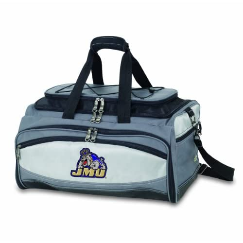 NCAA James Madison Dukes Buccaneer Tailgating Cooler with Grill