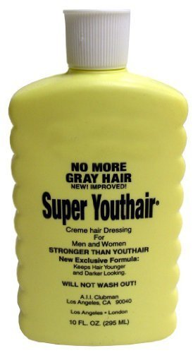 Youthair Cream Gray Hair Eliminator - Super 10 oz. (Pack of 2)