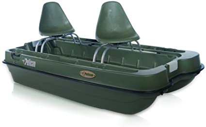 Amazon Com Pelican Boats Bass Raider 8 Wired Pontoon Boat Fishing Boats Sports Outdoors