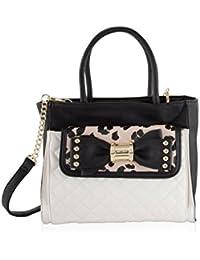 2 In 1 Removable Pouch Clutch Satchel Tote Shoulder handbag