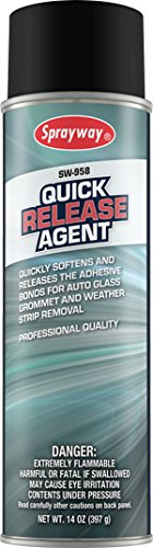 Auto Glass Quick Release Agent, 14 oz - Sprayway SW958