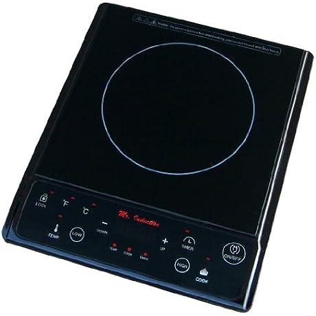 SPT 1300 Watt Induction Cooktop Black