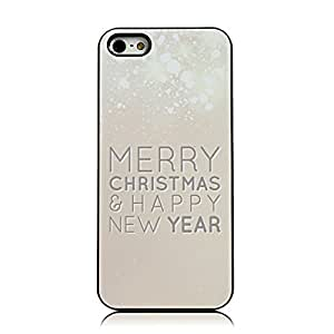 Sunshine Case Fashion Style Painted Colorful Pattern Santa Claus Christmas Tree Merry Christmas Happy New Year Cover Hard For LG G3 Phone Case Cover (Snow)
