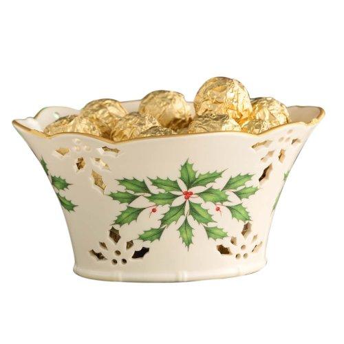 Pierced Basket (Lenox Holiday Pierced Basket)
