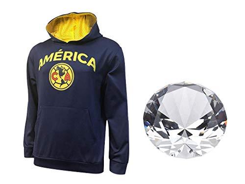 super popular dbf1d c3a3f Club America Official Soccer Hoodie Jacket Set 2 Items Adult 03-1 Medium