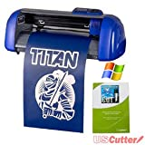 15-inch USCutter TABLE TITAN Craft Vinyl Cutter with VinylMaster Cut - a Design and Cut Software