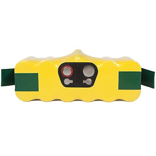 FLAGPOWER 4500mAh Ni-MH Batterie de Haute Capacité pour iRobot Roomba 500 510 530 560 563 770 780 R3 80501 Aspirateurs de la série Discovery