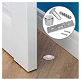 Fantom Magnetic Door Stop - Heavy Duty Door Stopper - Easy to Install Door holder Doorstop for Your Home, Office, Business or School (Fantom Door Stop)