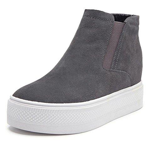Del Escoge Mujeres Grueso Spring Los Eu39 Zapatos Us8 Cn39 Perezosos Fondo Uk6 De Ms Elevador Tx0q05Caw