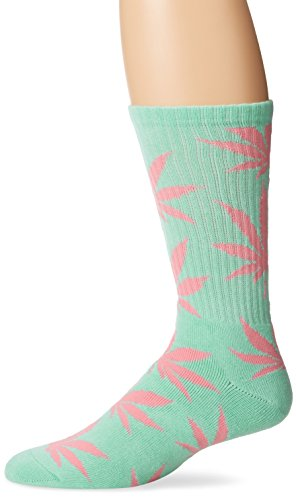 HUF Mens Plantlife Crew Socks