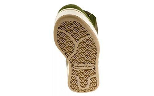 Diadora Mi Basket Camo - Zapatillas Abotinadas Unisex Adulto CAMO/VERT/BEIGE