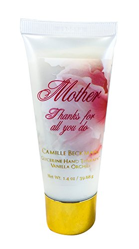 Camille Beckman Glycerine Hand Therapy Sentiments Collection - Mother, Vanilla Orchid, 1.4 oz