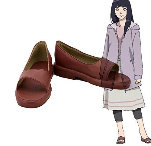 Naruto De Siste Hyuga Hinata Cosplay Sko Støvler Skreddersydde