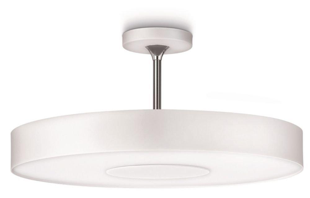 Philips InStyle Deckenleuchte, 60 W, Alexa, 1-flammig, Weiß, 302063116